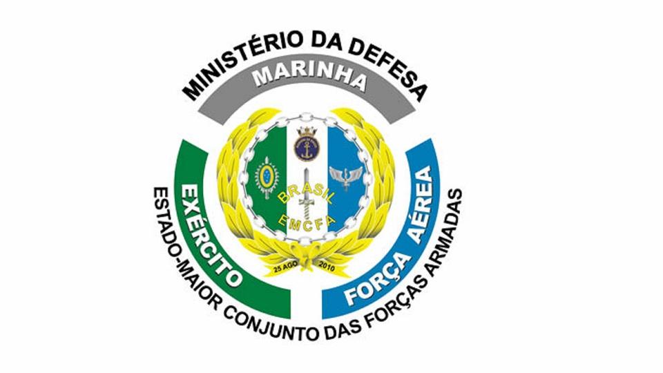 Concursos militares: brasão das forças armadas brasileiras