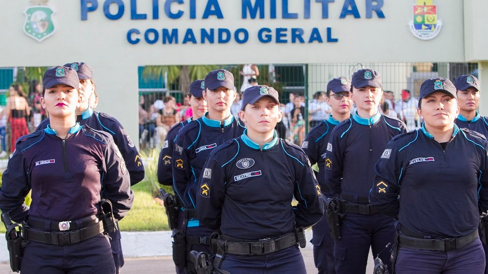Concursos Polícia Militar previstos para 2021; policiais militares do Ceará
