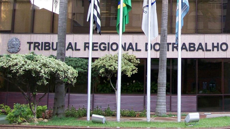Concursos TRT: fachada do TRT de São Paulo