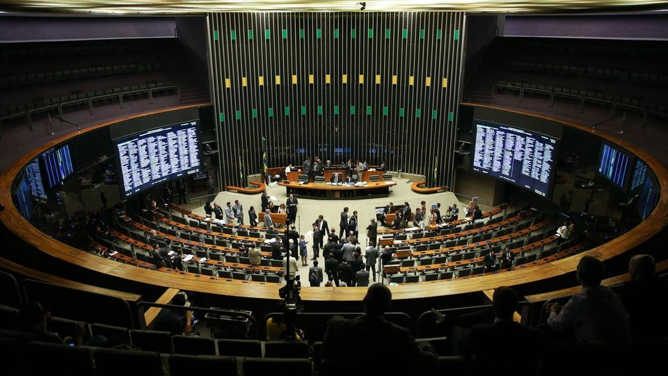 Prorrogação do auxílio emergencial da cultura: interior do Congresso Nacional