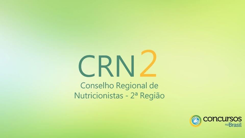 conselho regional de nutricionistas 2ª região