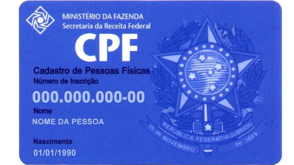 CPF Digital, cartão de CPF