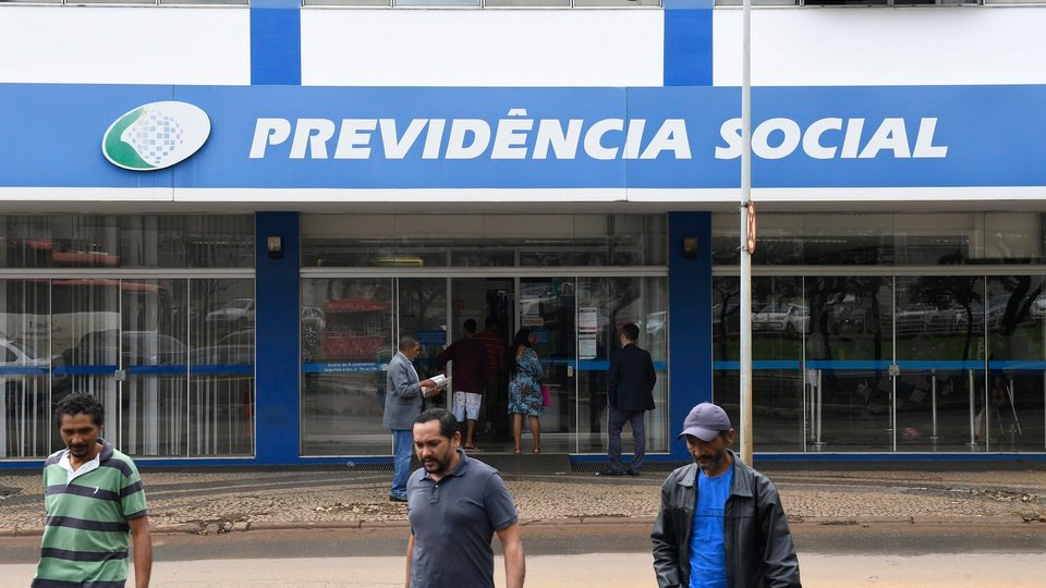 déficit no INSS, unidade Previdência Social