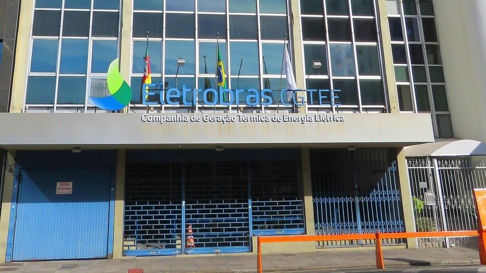 capitalização da Eletrobras: fachada do prédio da eletrobras