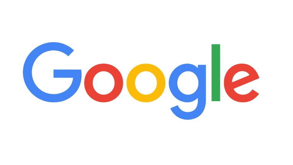 Cursos online gratuitos do Google: logo do Google em fundo branco