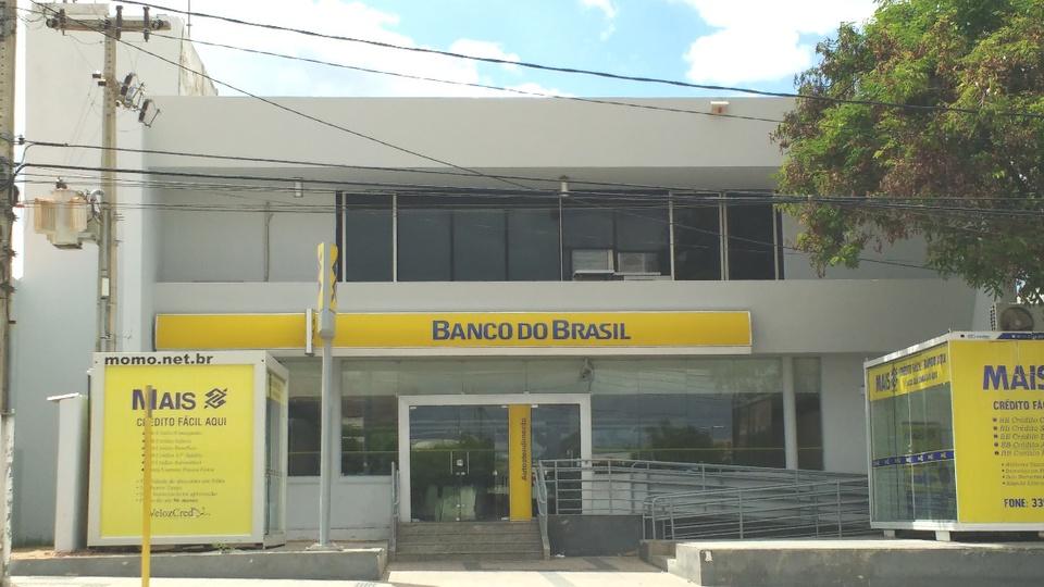 Governo 'trava' privatização de quatro empresas: panorama de uma das agências do Banco do Brasil, localizada na cidade de Mossoró