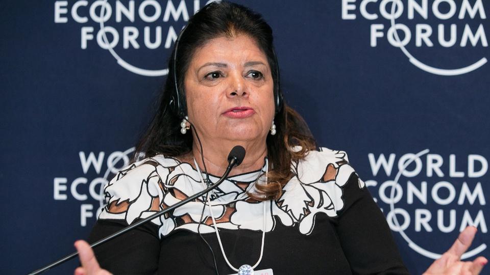 Magazine Luiza é alvo de ação de R$ 10 milhões por trainee para negros: Luiza Helena Trajano em pronunciamento no World Economic Forum