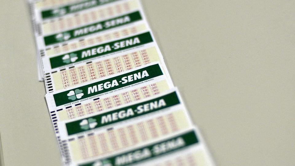 Sorteio da Mega-Sena: enquadramento em bilhetes da Mega-Sena