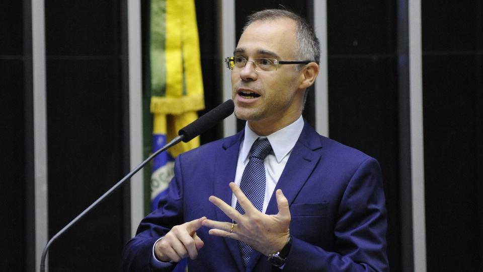 Ministério da Justiça pede que supermercados expliquem alta nos preços: ministro da Justiça, André Mendonça, em pronunciamento