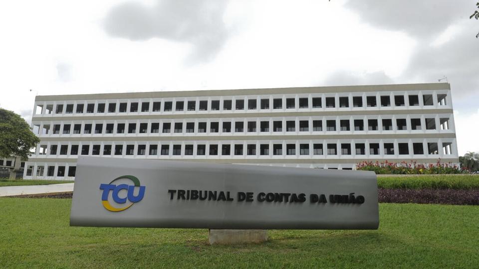 MP no TCU pede que a prorrogação do auxílio emergencial seja suspensa: fachada do prédio do Tribunal de Contas da União (TCU)