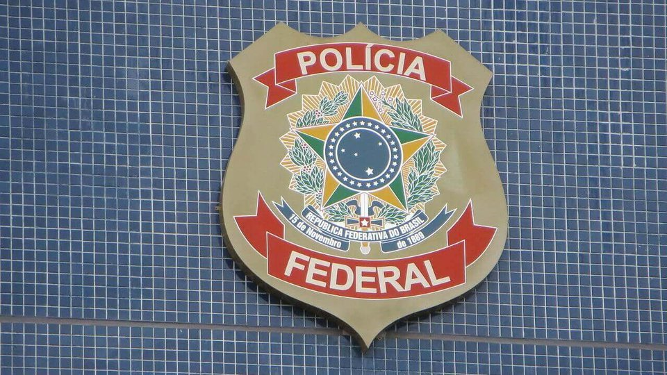 argos comissionados da Polícia Federal: brasão da PF