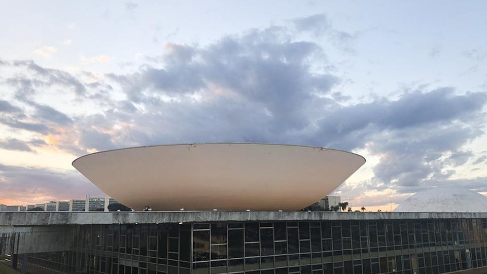 concessão do BPC: a imagem mostra a Câmara dos Deputados vista de fora na lateral do prédio