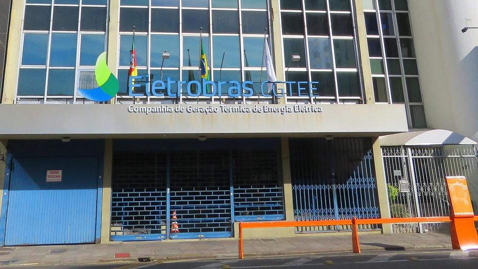privatização da eletrobras: a imagem mostra fachada de prédio da eletrobras