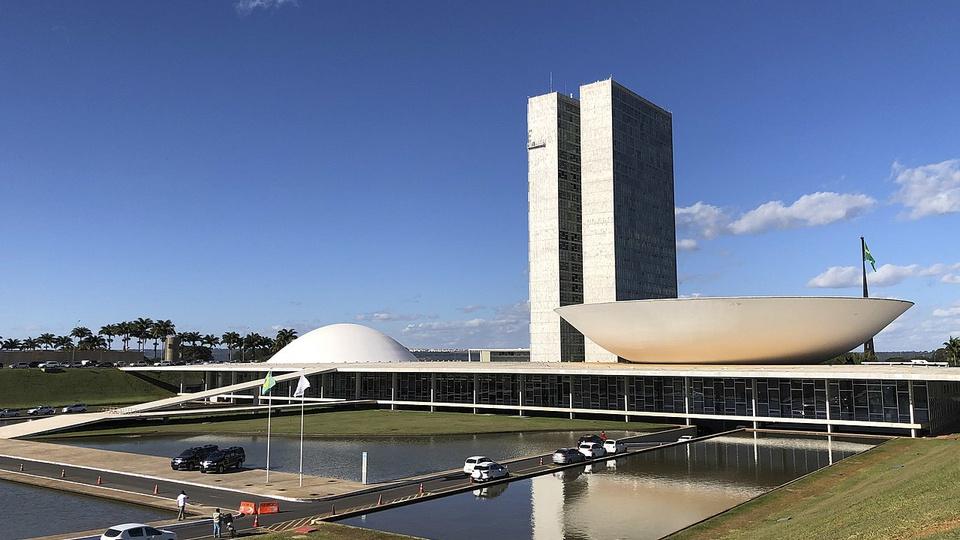 PEC sobre auxílio emergencial 2021: fachada do Congresso Nacional em Brasília