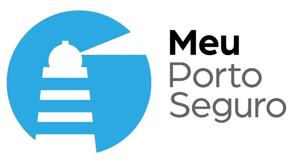 """Porto Seguro oferece 10 mil oportunidades de trabalho e capacitação: logo do projeto """"Meu Porto Seguro"""""""