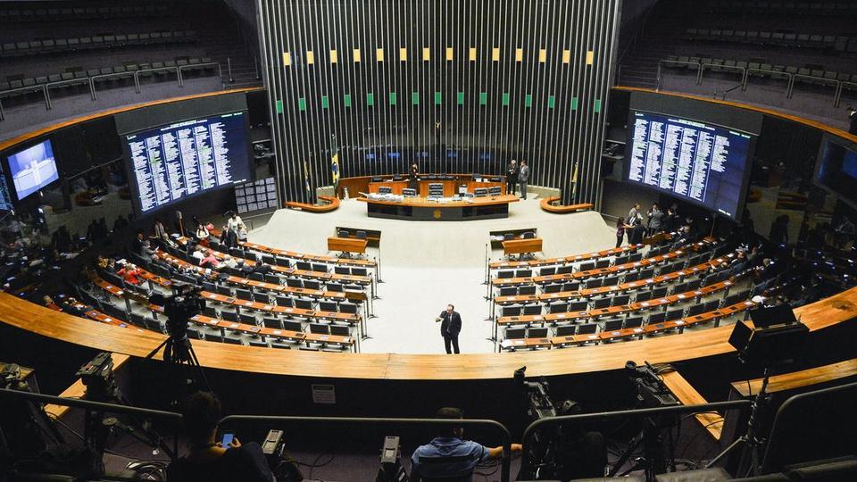 Privatização da Eletrobras aprovada: interior do Congresso