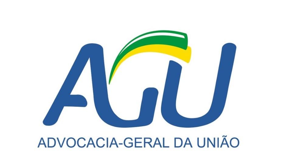Processo seletivo AGU. logo da AGU