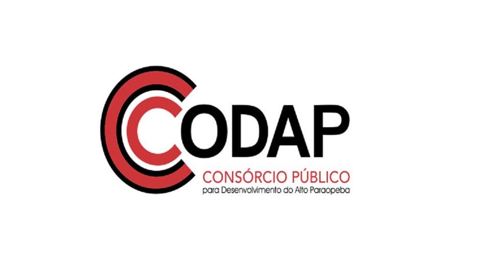 processo seletivo CODAP MG: a imagem mostra a logo do consórcio