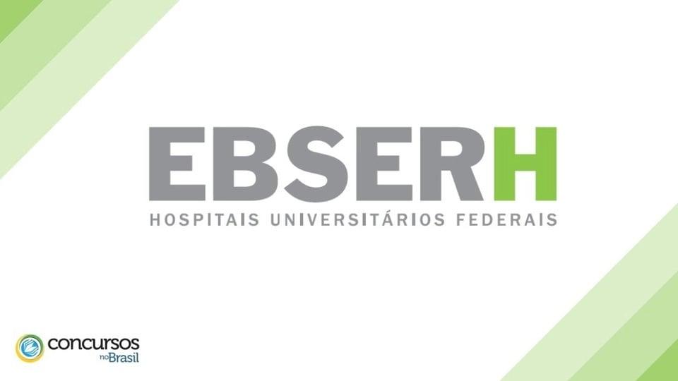 processo seletivo de estagio ebserh - logo ficial