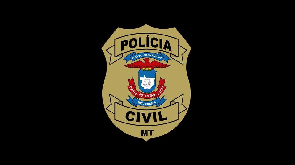 processo seletivo pc mt: a imagem mostra o brasão da policia civil do mato grosso