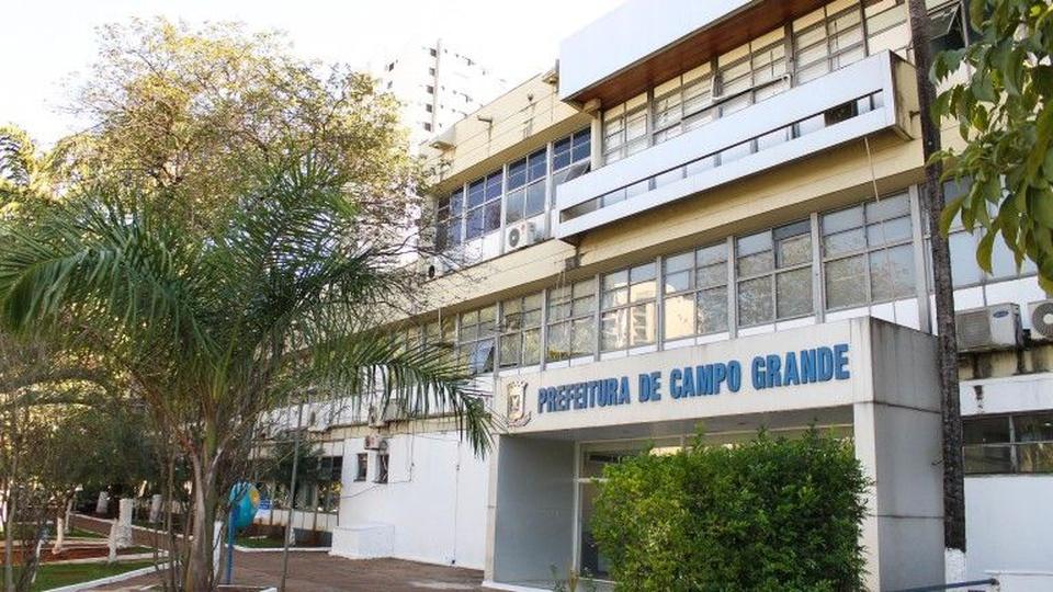 Processo seletivo Prefeitura de Campo Grande - MS: fachada da Prefeitura de Campo Grande