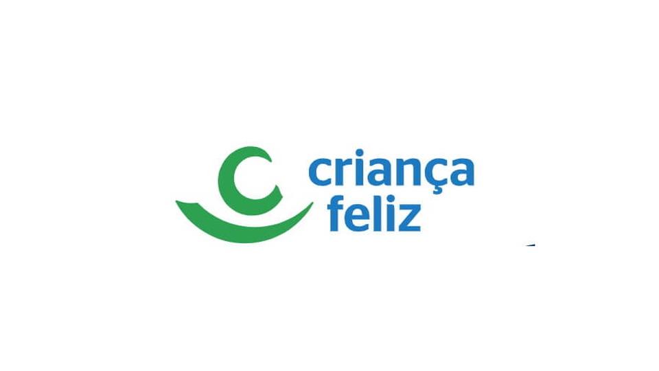 Processo seletivo Prefeitura de Engenheiro Paulo de Frontin - RJ: a foto mostra a logo do programa Criança Feliz, do Ministério da Cidadania
