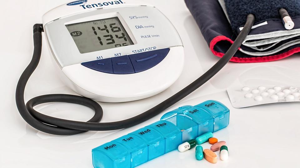 Processo seletivo Prefeitura de Mato Rico - PR:aparelho para aferir pressão arterial