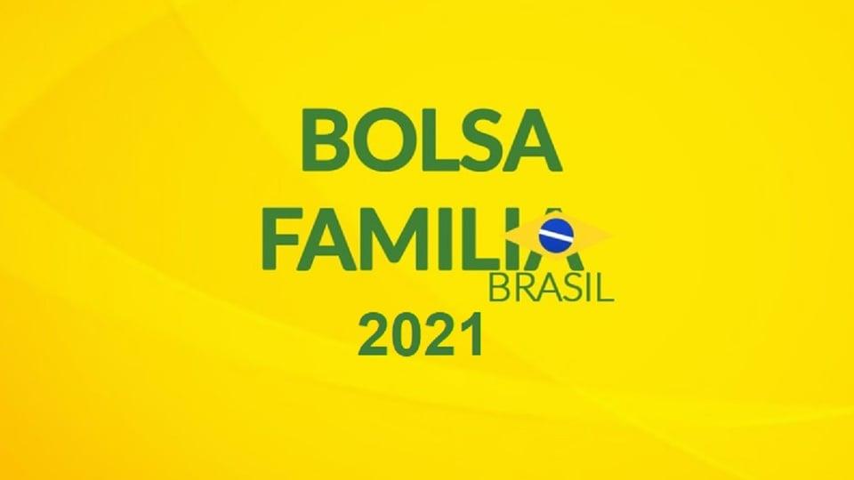 novo bolsa família: a imagem mostra a nova logo do programa social em fundo amarelo