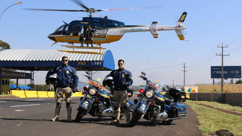 Quais as diferenças das Polícias Militar, Civil, Federal e Rodoviária; agentes da PRF, helicóptero e motos