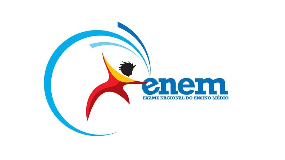 reaplicação do ENEM: a imagem mostra a logo do exame nacional