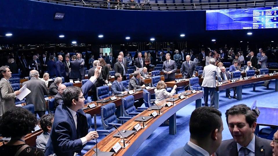 Reforma administrativa: novo órgão avaliaria os servidores públicos, sessão no Senado
