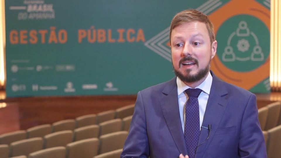 Retorno presencial de servidores: é possível ver o secretário de Gestão e Desempenho de Pessoal do Ministério da Economia, Wagner Lenhart
