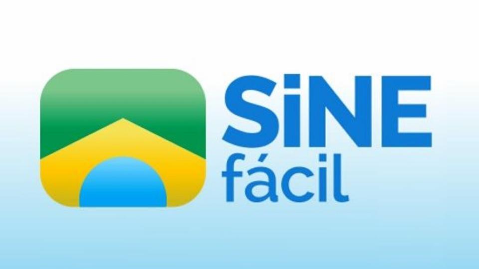 sine fácil: a imagem mostra a logo do aplicativo