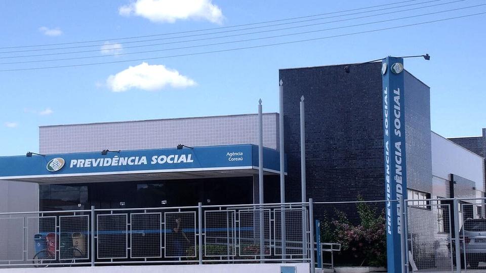 Temporários do INSS: fachada do Instituto Nacional do Seguro Social (INSS)