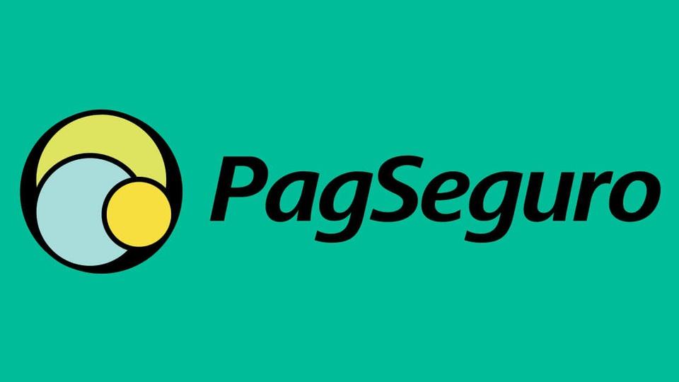 PagSeguro abre centenas de vagas para trabalho home office - a foto mostra a logo do pagseguro