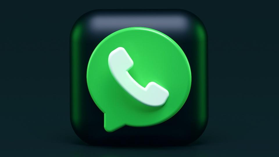 Transferências de dinheiro pelo WhatsApp: ícone do WhatsApp em 3D